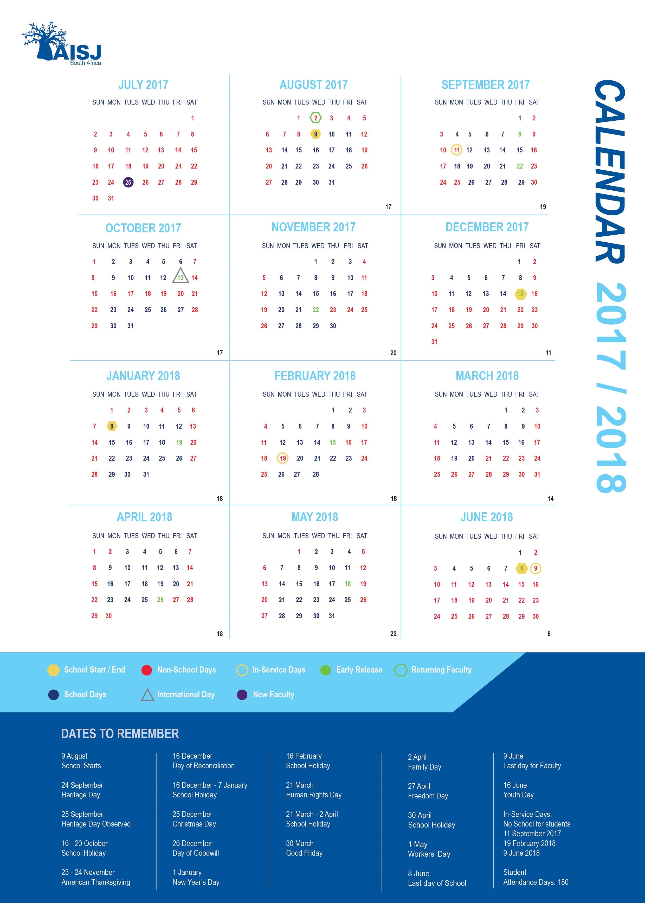 january 2018 calendar public holidays